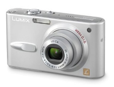 DMC-FX3 (Silver) Lumix 6 megapixel Digital Camera w/ 2.5` TFT LCD - OPEN BOX