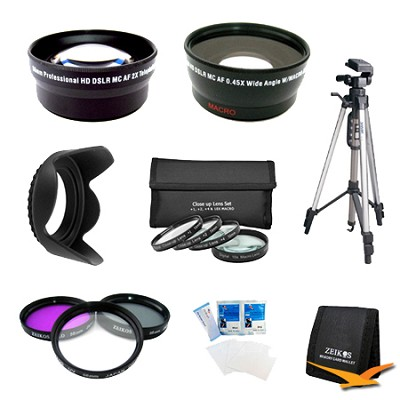 PRO SHOOTER 58MM  Wide Angle / Telephoto Lens Kit