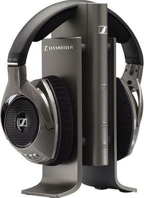 RS 180 Digital Wireless Headphone System with Automatic Level Control and Adusta