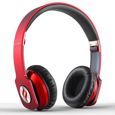 ZORO High Fashion Steel Reinforced SCCB Sound Technology Headphones Red