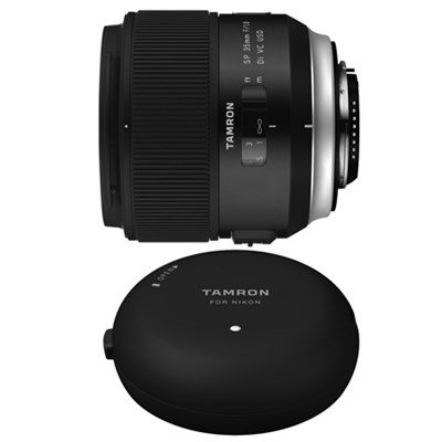 SP 35mm f/1.8 Di VC USD Lens and TAP-In-Console for Canon Mount Cameras