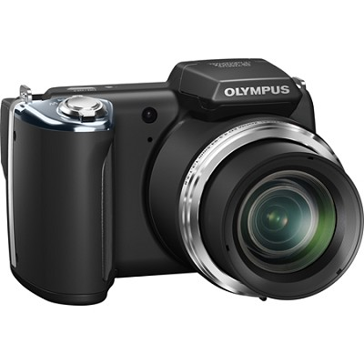 SP-620UZ 16 MP Ultra Zoom Digital Camera (Black) - OPEN BOX