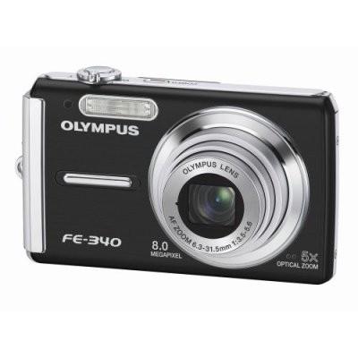 FE-340 8MP Digital Camera (Black)