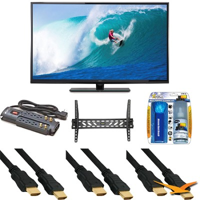 SE50UY04 - 50-Inch 4K 120Hz LED Ultra-High-Definition TV With Mount Bundle