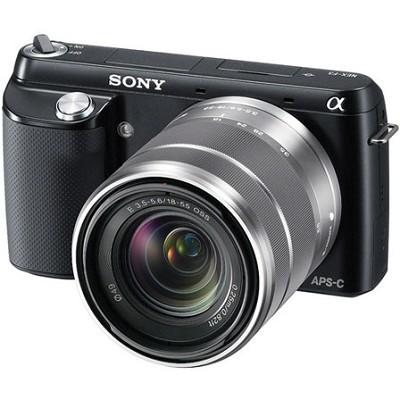 NEX-F3K Digital Camera built in flash with 18-55mm Lens (Black)