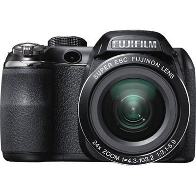 FinePix S4200 24x Optical Zoom 14 MP 3 inch LCD Digital Camera -OPEN BOX