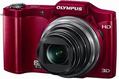 SZ-11 14MP 20x Optical Zoom 3d HD Digital Camera - Red  - OPEN BOX