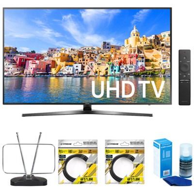 65` Class KU7000 7-Series 4K UHD TV w/ Accessories Bundle