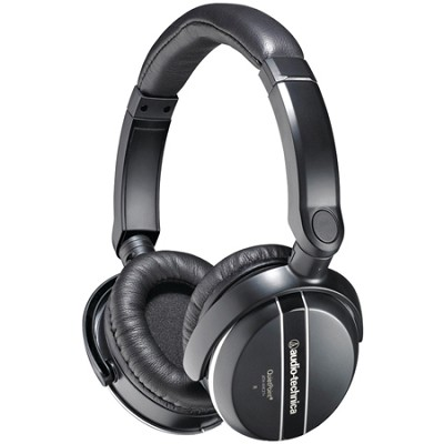 ATH-ANC27X QuietPoint Active Noise-Canceling Headphones And Travel Case