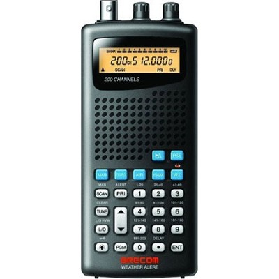 Psr100 200-channel Handheld Analog Scanner