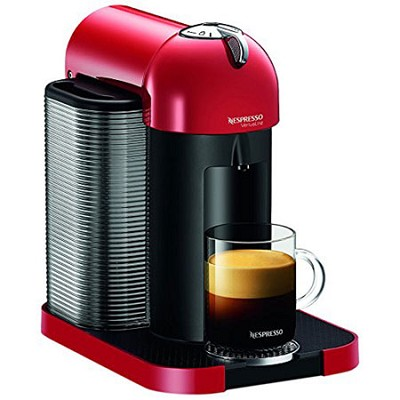 VertuoLine Coffee and Espresso Maker (Red)