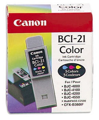 BCI-21 Color Ink Tank