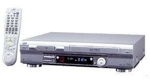 HR-DVS3U Mini DV/S-VHS 4 Head Stereo Dual VCR