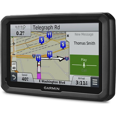 dezl 770LMTHD 7` GPS Navigation System with Lifetime Map and Traffic Updates