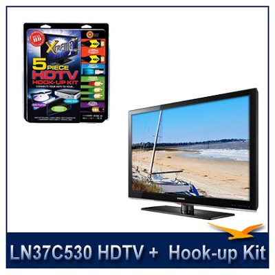 LN37C530 - HDTV + High-performance HDTV Hook-up & Maintenance Kit