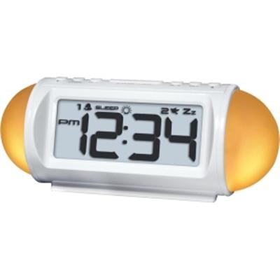 Mood Light LED Alarm Clock with Nature Sounds - 31112