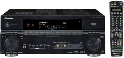 VSX-1017TXV-K 7.1 Channel A/V Receiver - iPod Ready, XM & Sirius Satellite Ready