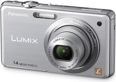 DMC-FH3S LUMIX 14.1 Megapixel Digital Camera (Silver) - REFURBISHED