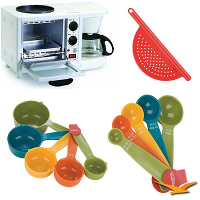 Elite Cuisine 3 in 1 Breakfast Station Bundle