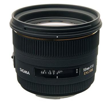 50mm f/1.4 EX DG HSM Autofocus Lens for Canon SLR