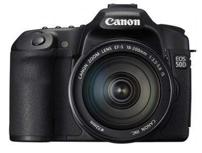 EOS 50D SLR Camera w/ 18-200mm Lens - REFURBISHED
