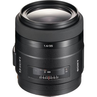 SAL35F14G - G Series Wide Angle 35mm f/1.4 G Standard Autofocus A-Mount Lens