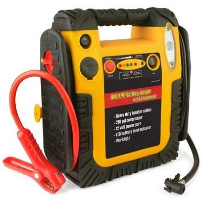 900 Amp Battery Jumper with Air Compressor