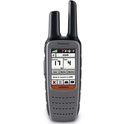Rino 650 Rugged GPS-Enabled w/ 5-Watt Two-Way Radio