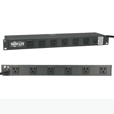 15A Rackmount Network-Grade PDU Power Strip - RS-1215-RA