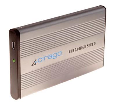 CST1320 320GB Ultra-Slim USB 2.0 Plug and Play External Hard Drive