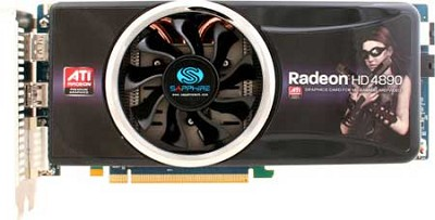RADEON HD4890 PCIE2 1GB DDR5 2X DP/1X DVI-I/HDMI 500W 6PIN/8PIN
