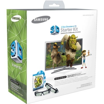 Shrek 3D Starter Kit (Includes 2 3D Glasses, Shrek 1-3, and voucher for Shrek 4)