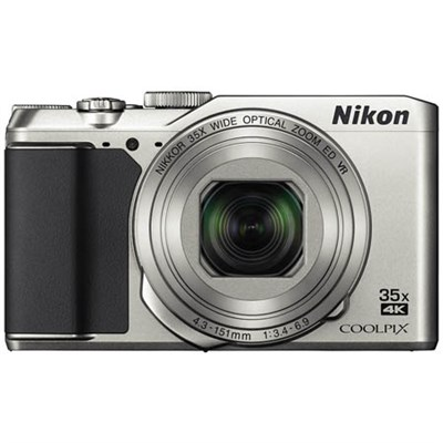 COOLPIX A900 20MP HD Digital Camera w/ 35x Optical Zoom & Built-in WiFi - Silver