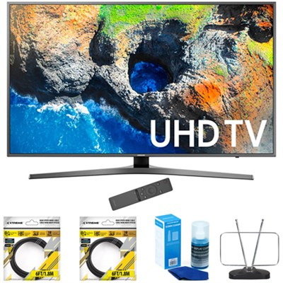 48.5` 4K Ultra HD Smart LED TV 2017 Model with Cleaning Bundle