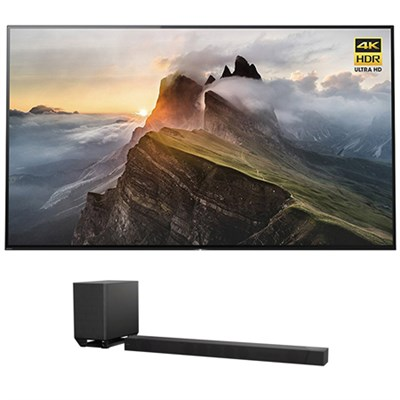 65` 4K UHD Smart Bravia OLED TV w/ Sony 7.1.2ch Dolby Atmos Sound Bar