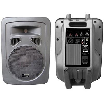 PPHP1098A 600 Watt 10'' 2-Way Plastic Molded Powered PA speaker System