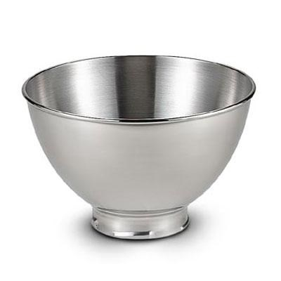 3-Quart Stainless Steel Bowl for Tilt-Head Stand Mixers - KB3SS