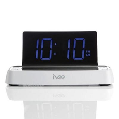 Flex Voice Controlled Talking Radio ( White ) - OPEN BOX