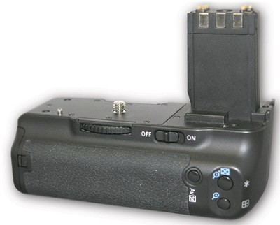 Vertical Battery Grip for Canon Rebel XT / XTi (Replaces BGE3) - OPEN BOX