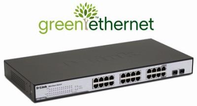 Web Smart 24-Port 10/100/1000 + 2 combo SFP Switch