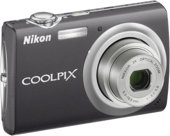 COOLPIX S220 Digital Camera (Graphite Black)