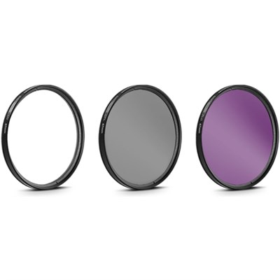 67mm UV, Polarizer & FLD Deluxe Filter kit (set of 3 + carrying case)