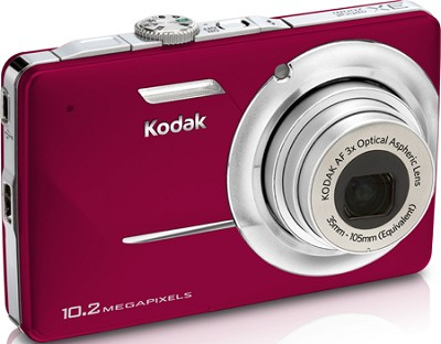 EasyShare M340 10.2 MP 2.7` LCD Digital Camera (Red)