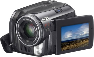 GZ-MG50 Everio Digital Media Camera with 30GB Hard Drive / 15x Optical Zoom