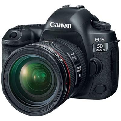 EOS 5D Mark IV 30.4 MP DSLR Camera + EF 24-70mm f/4L IS USM Lens Kit #3