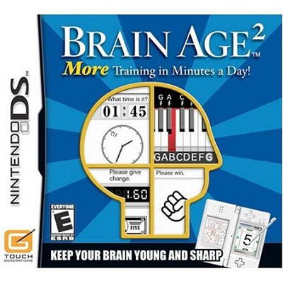 DS Brain Age 2: More Training in Minutes a Day!