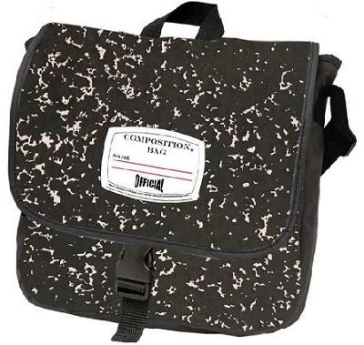 Official Composition Backpack/Messenger Bag (Black)