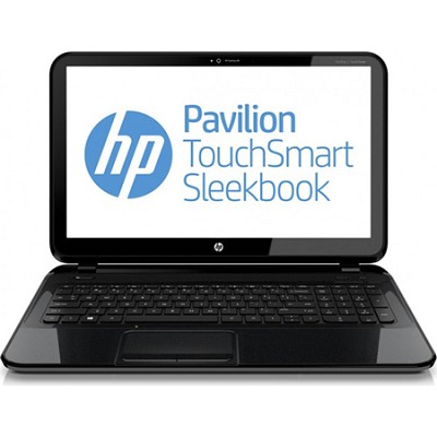 Pavilion TouchSmart 15.6` 15-b150us Sleekbook PC - AMD Quad-Core A8-4555M Proc.