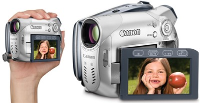 DC-100 Super Slim DVD Camcorder With 25x Optical Zoom