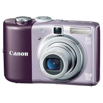 Powershot A1000 IS Digital Camera (Purple)